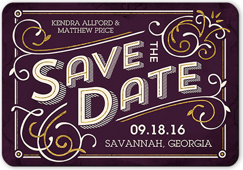 Swirled In Style Save The Date