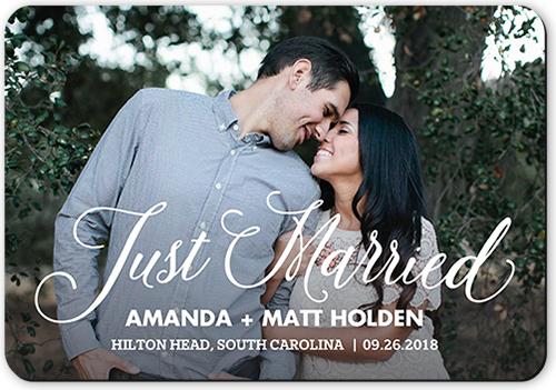 Special Moment Script Wedding Announcement