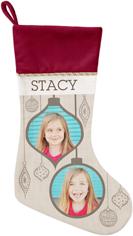 stylish ornaments christmas stocking