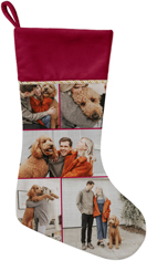 gallery of five christmas stocking