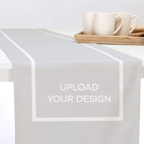 Upload Your Own Design Table Runner, 90 x 14, Multicolor