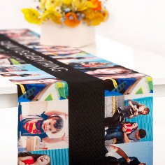 Custom table runners shutterfly table runner from 4999 gallery collage solutioingenieria Gallery
