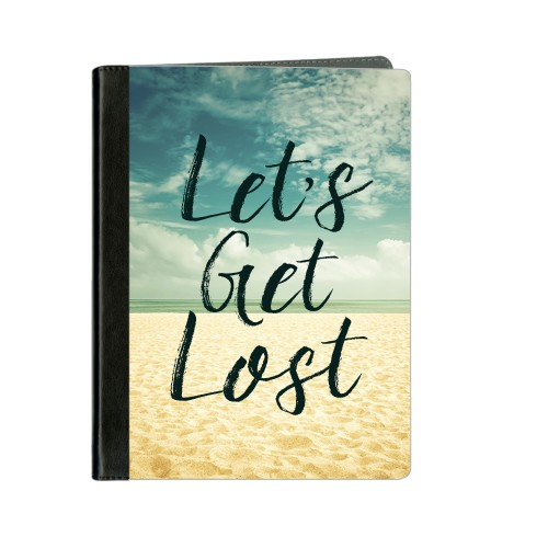 Lets Get Lost ipad Case, Black, iPad 1,2,3,4, Black
