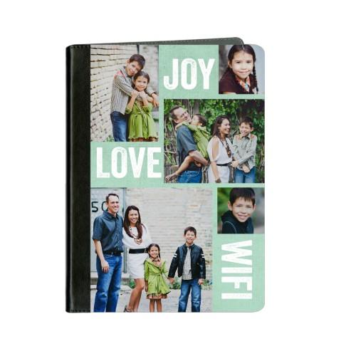 Joy Love Wifi ipad Case, Black, iPad Air, Air 2, Blue