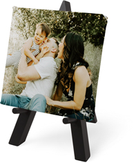 photo gallery tabletop canvas print