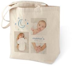 baby gear cotton tote bag
