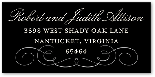 Fine Form Address Label