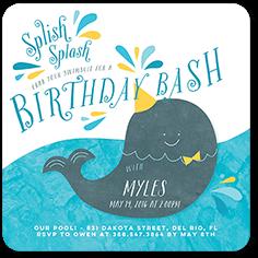 Splish Splash Bash Birthday Invitation