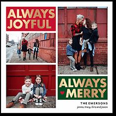 jolly frames - Tiny Prints Christmas Cards
