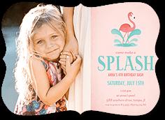 Splash Party Birthday Invitation