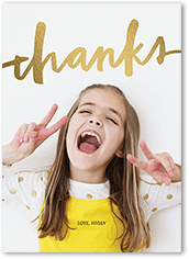 10 Personalized Thank You Cards for Free + Free Shipping