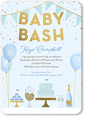 Baby Shower Invitations For Boys Tiny Prints