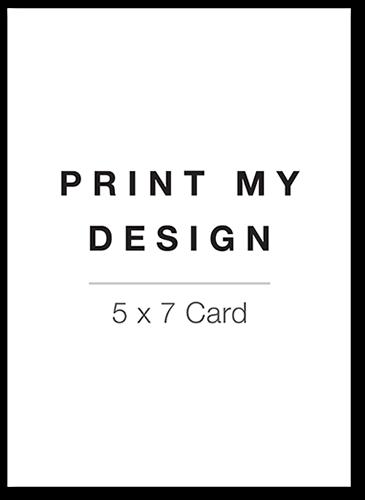 Print My Design 5x7 Unique Holiday Party Invitations Tiny Prints