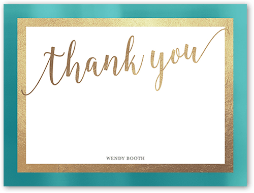 Misty Border 5x7 Unique Thank You Cards | Tiny Prints
