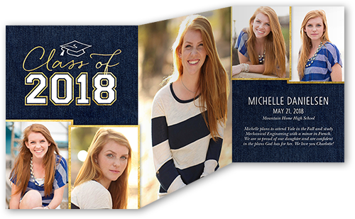 Lifted Grad Graduation Announcement