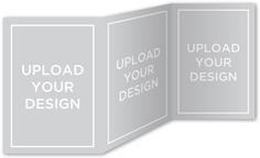 upload your own design bridal shower invitation 5x7 trifold