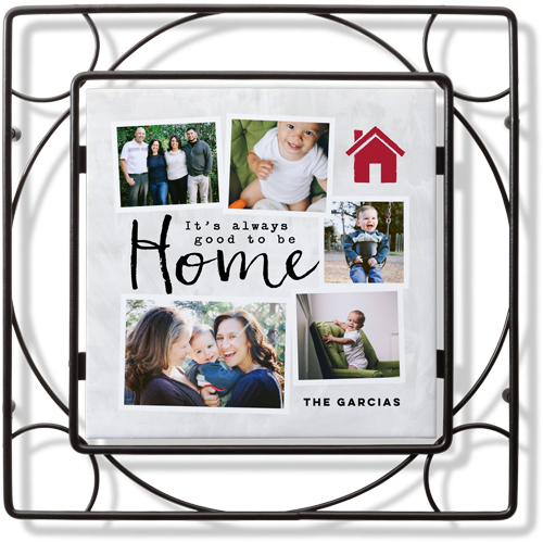 Good To Be Home Trivet, DynamicColor