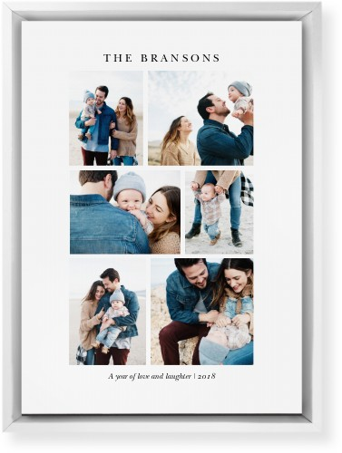 Gallery Montage of Memories Mounted Wall Art, Single piece, White, 10 x 14 inches, Multicolor