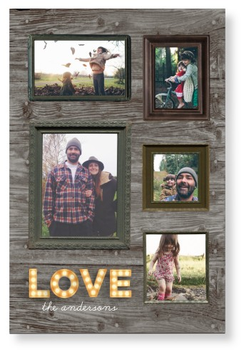 Photo Real Love Mounted Wall Art, Single piece, None, 20 x 30 inches, Brown