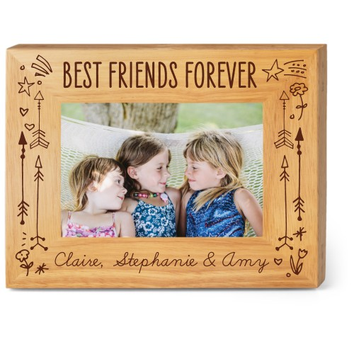 Friends Forever Wood Frame By Shutterfly Shutterfly