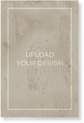 Upload Your Own Design Wood Wall Art, Single piece, 24 x 36 inches, Multicolor