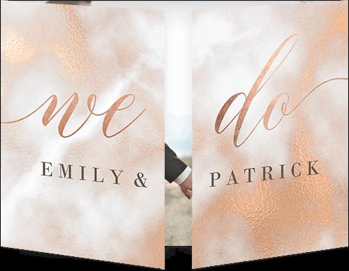 Texture Wedding Invitation