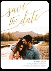soft script save the date