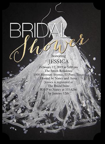 Sequin Splash 5x7 Bridal Shower
