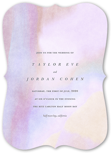 Opalescent Wedding Invitations | Free Shipping | Shutterfly