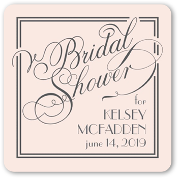 Framed Elegant Wishes Stickers