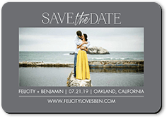 simple expression save the date