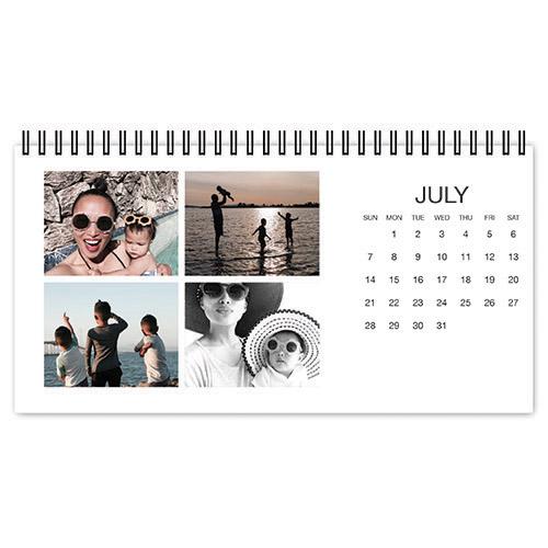 photo gallery desk calendar