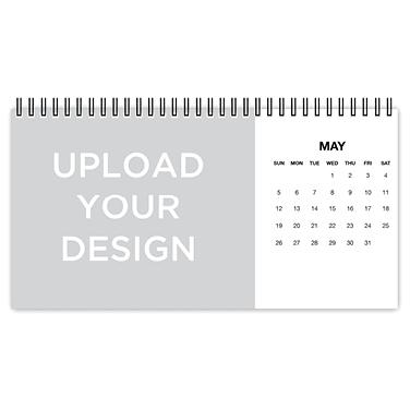upload your own desk calendar