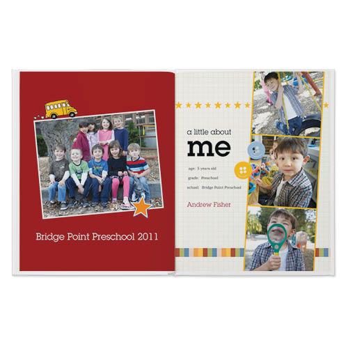 school days photo book