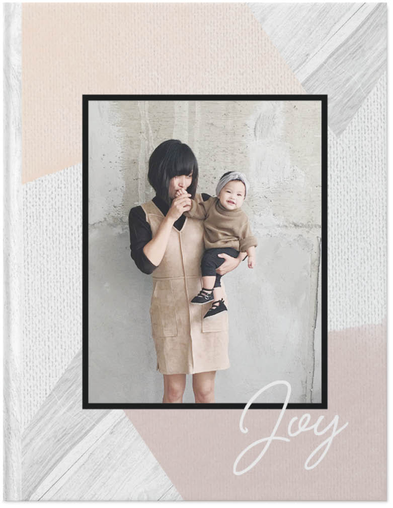 softly rustic photo book