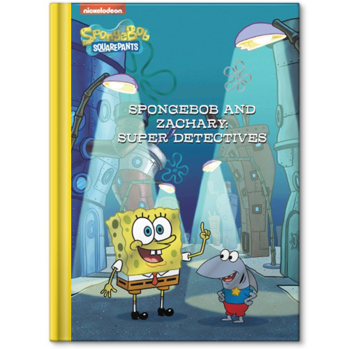 Spongebob Me Super Detectives Personalized Story Book Shutterfly