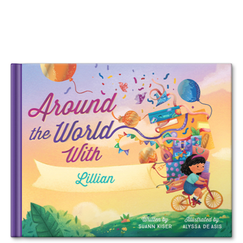 356b3c16 around the world personalized story book