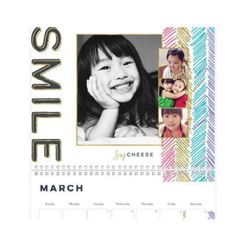 confetti family calendar wall calendar