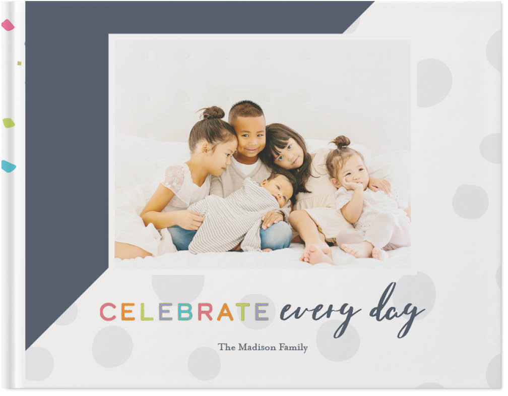 celebrate family by float paperie photo book