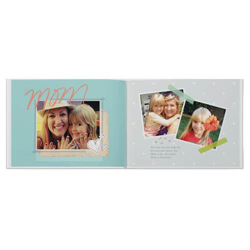 handmade for mom photo book