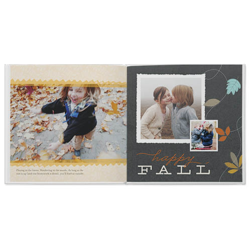 autumn memories photo book