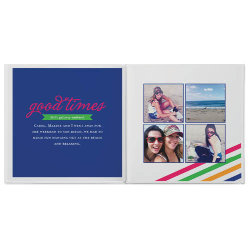 bright and bold photo book