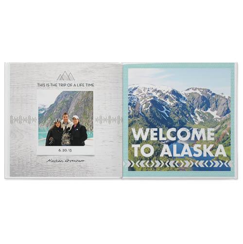 destination alaska photo book