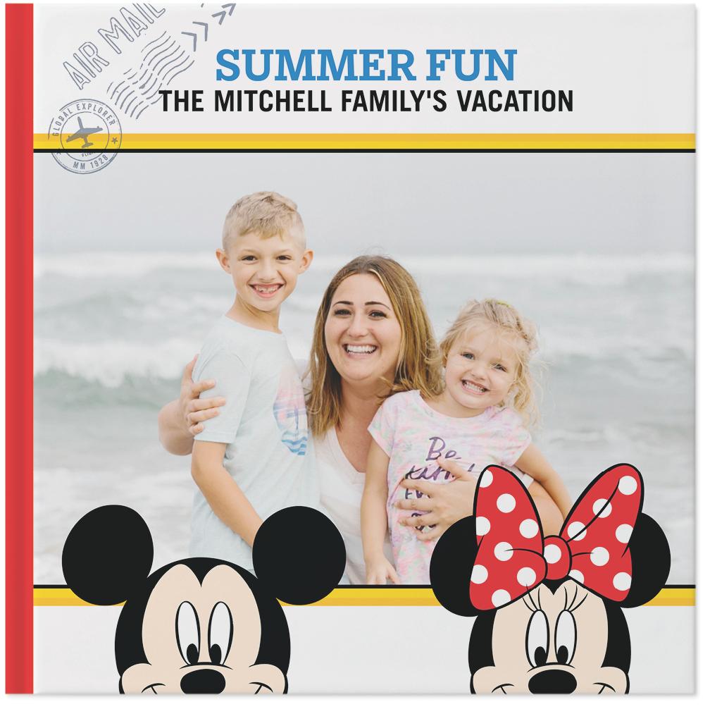 disney family adventures photo book