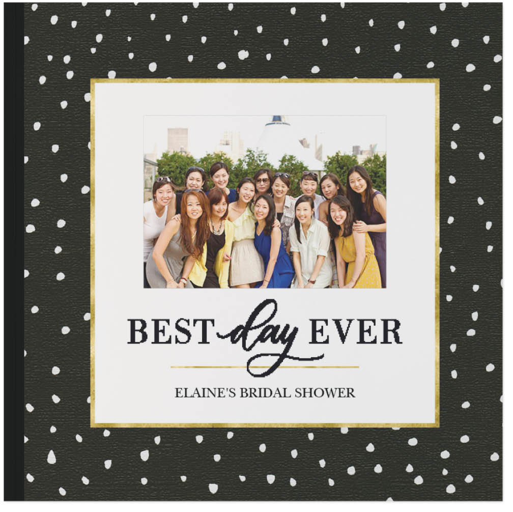 chic celebrations by float paperie photo book