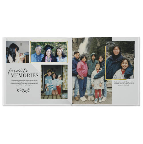 love and thanks photo book