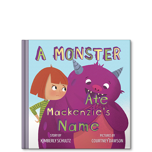 a monster ate my name personalized story book