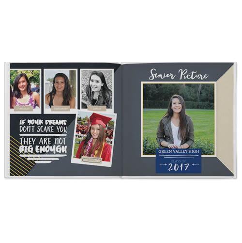 my high school story photo book