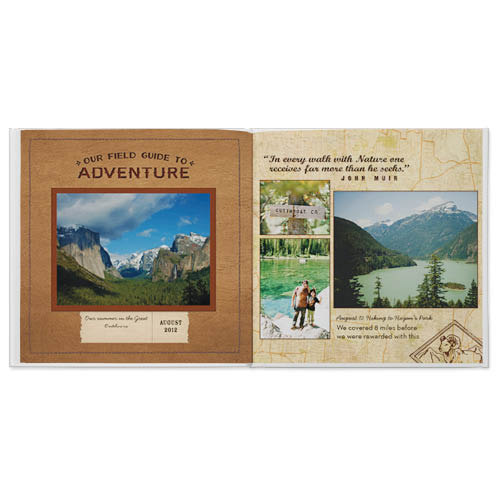 national parks photo book