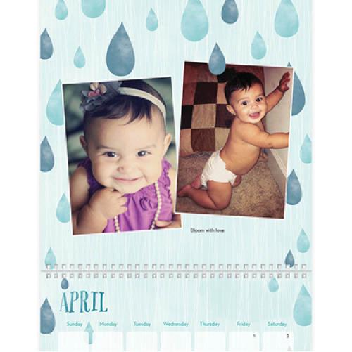seasonal stencils wall calendar